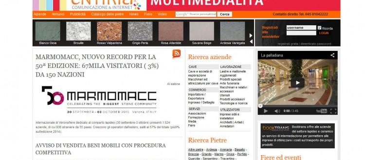 realizzazione siti internet marmo marbleandmore.com