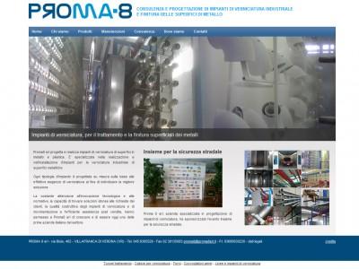 realizzazione siti internet proma8