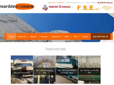 Marbleandmore.com is the international portal for the stone industry