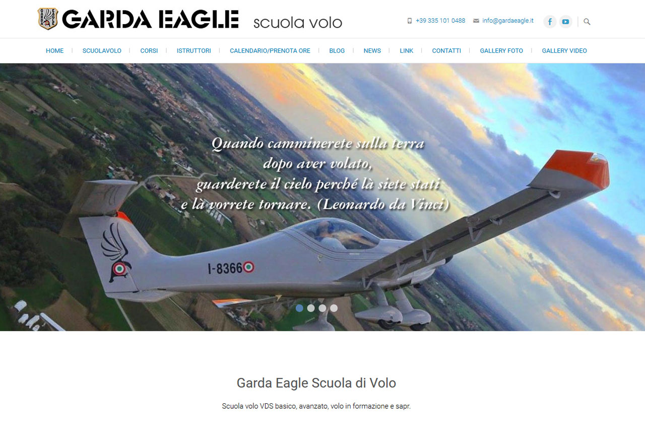Garda eagle scuola di volo